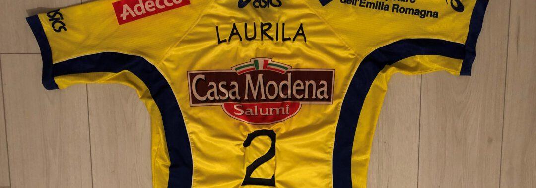Petteri Laurila pelipaita Casa Modena 2002
